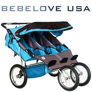 Bebelove Usa Triple Jogging Stroller Full Review