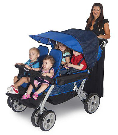 Foundations ® Quad Four Child Stroller- Full Review
