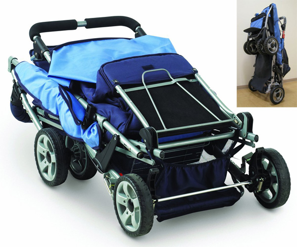 Foundations ® Trio Triple Tandem Stroller - Full Review