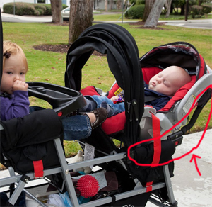 Joovy ® Big Caboose Triple Stroller - Full Review